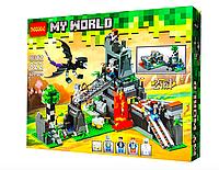 Конструктор Jisi bricks (Decool) My World 822 Битва за замок