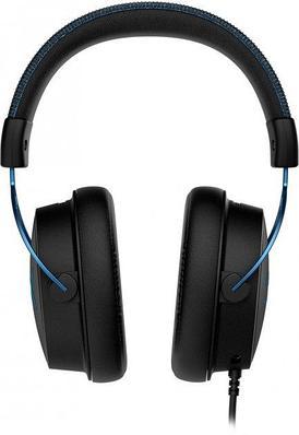 Наушники-гарнитура игровые HyperX HX-HSCAS-BL/WW Cloud Alpha S, черный+синий