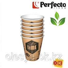 Набор стаканов бумажных биоразлагаемых 185 мл, 6 шт, серия ECO, PERFECTO LINEA  Россия