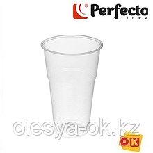 Набор стаканов пивных одноразовых 500 мл, 6 шт, PERFECTO LINEA  Россия