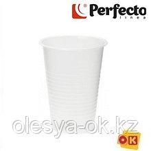 Набор стаканов одноразовых 200 мл, 10 шт, PERFECTO LINEA  Россия
