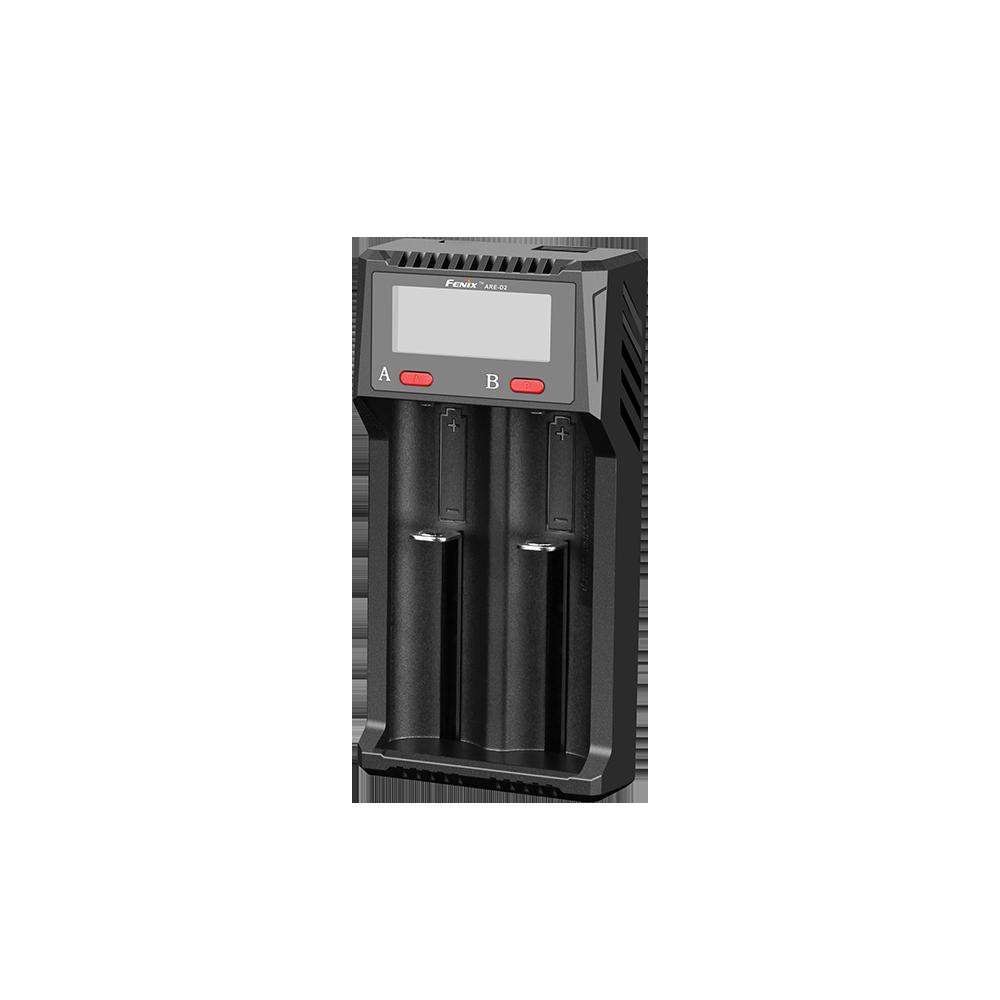 Зарядное устройство FENIX Мод. ARE-A2 (4.2V/1.0A, 1.5V/1.0A)(AC: 100-240V 50-60Hz/0.35A max) R 43325