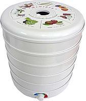 Сушка Ветерок для овощей и фруктов (электросушилка 5 белых поддонов, в гофр.упаковке)