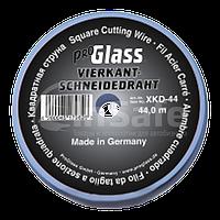 Резальная квадратная струна Proglass, 0,7 х 0,7 мм на пластиковой катушке 44 метра