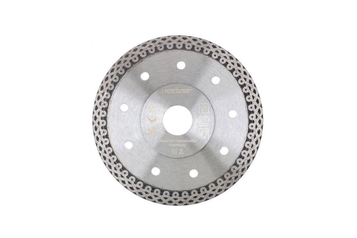 Круг алмазный GROSS 73059 Ф230х22мм сплошной по керамике