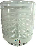 Сушилка для овощей и фруктов Ветерок-2 (электросушилка 6 прозрачных поддонов 39см + поддон для пастилы)