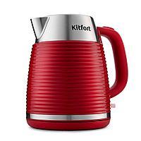 Электрический чайник Kitfort KT-695-2 красный