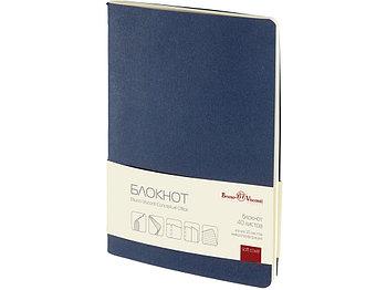 Бизнес - блокнот А5 (128 х 210 мм.) Conceptual Office 40 л., синий