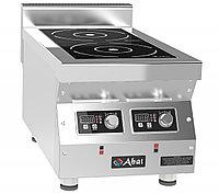 Плита индукционная 2-х конфорочная Abat КИП-27Н-5,0