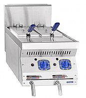 Газовая фритюрница кухонная Abat ГФК-40.2Н, фото 1