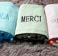 Кухонные полотенца для рук с бубонами, фото 2