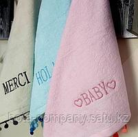 Кухонные полотенца для рук с бубонами, фото 5