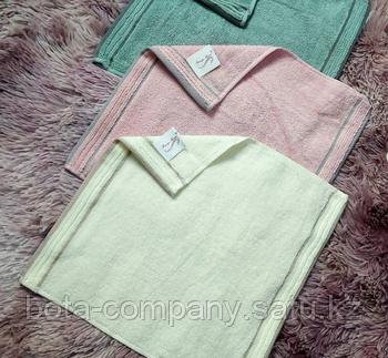 Кухонные однотонные полотенца