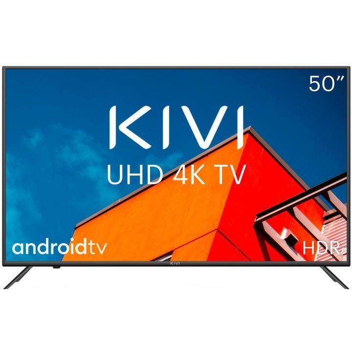 Телевизор KIVI 50U710KB Smart 4K UHD черный - фото 1