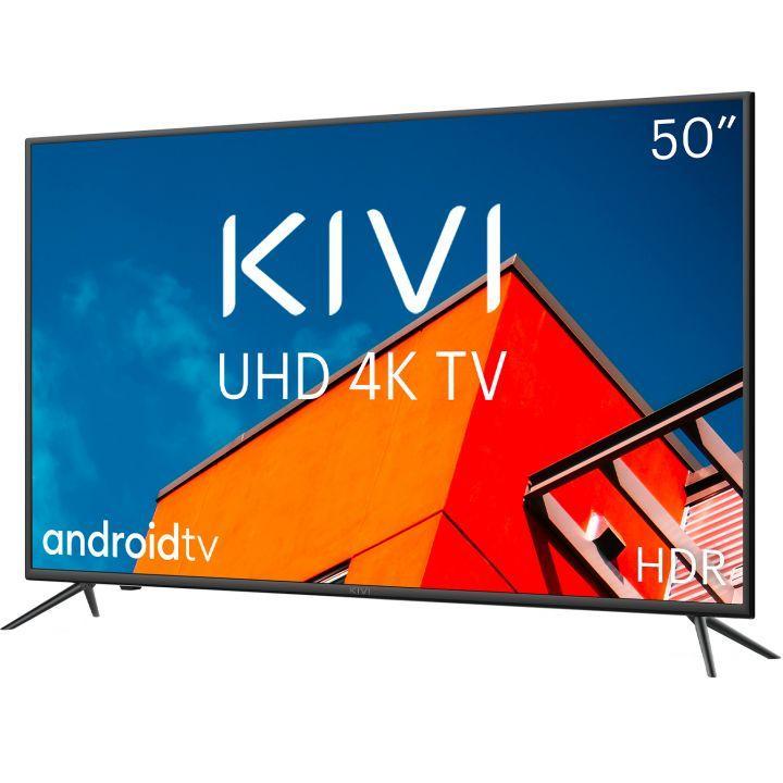 Телевизор KIVI 50U710KB Smart 4K UHD черный - фото 2