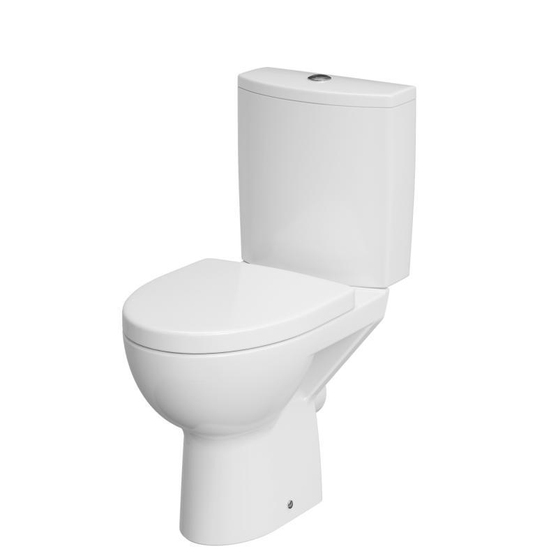 Унитаз-компакт напольный Cersanit PARVA Clean On 011 3/6 DPL EO белый (S-KO-PA011-3/6-COn-DL-w)