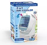 Переносной 2в1. Мини - кондиционер охладитель увлажнитель  воздуха., фото 2