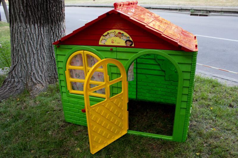 Детский домик Doloni 01550/3 Зеленый