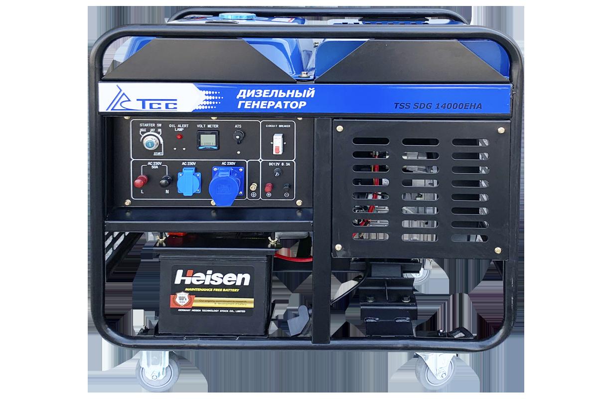 Дизельный генератор TSS SDG 14000EHA