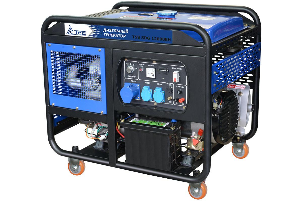 Дизельный генератор TSS SDG 12000EHA