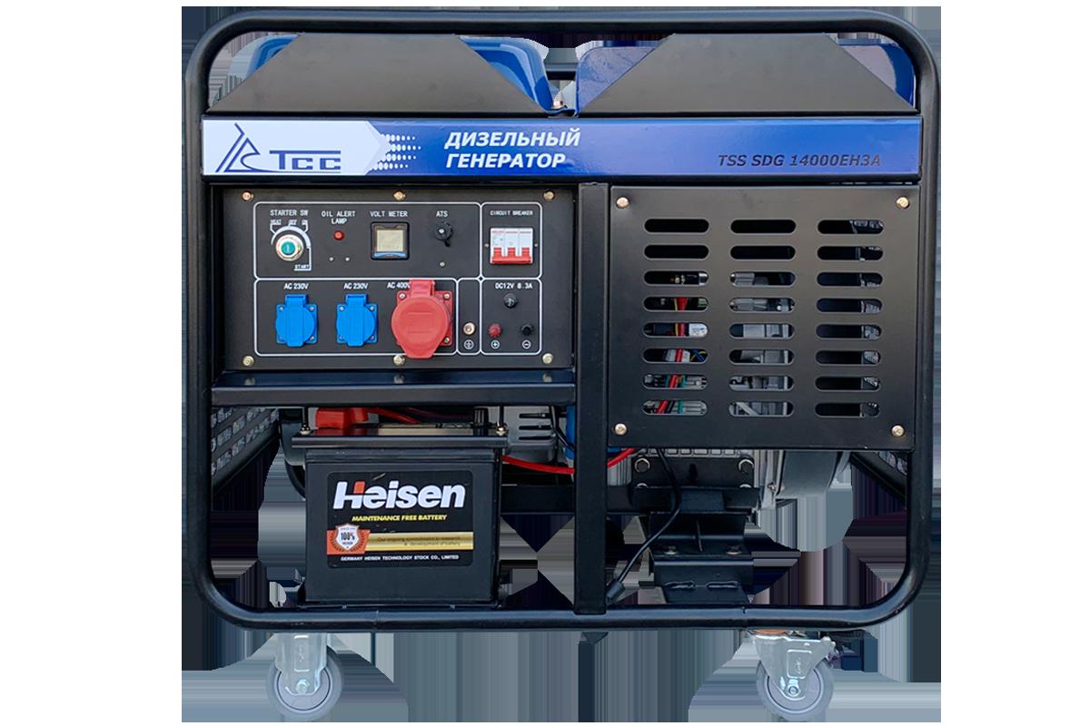 Дизель генератор TSS SDG 14000EH3A