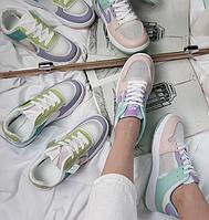 Женские кроссовки Air разноцветные