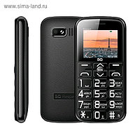 "Сотовый телефон BQ M-1851, Respect 1.77"", 2 sim, 32Мб, microSD, 1000 мАч, чёрный"