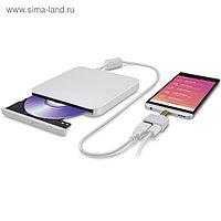 Привод DVD-RW LG GP90NW70 USB ultra slim внешний белый RTL