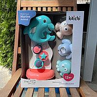 Игрушка для купания Водопад с дельфином Kaichi