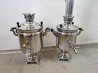 Самовар жаровый (дровяной) 8 литров без трубы