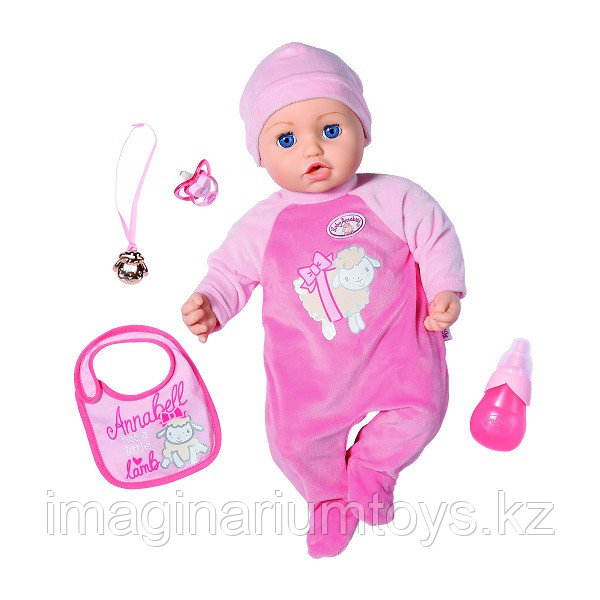 Кукла многофункциональная Baby Annabell 43 см 702-628 - фото 1