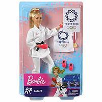 Barbie Кукла Barbie Олимпийская спортсменка Tokyo 2020 карате