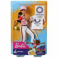 Barbie Кукла Barbie Олимпийская спортсменка Tokyo 2020 бейсбол
