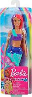 Barbie Дримтопия Кукла Barbie Русалочка в фиолетовом топе