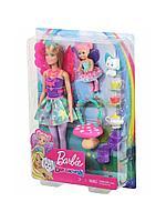 Кукла Barbie Dreamtopia Заботливая принцесса Чаепитие