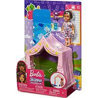 """Barbie Игра с малышом """"Девочка брюнетка"""", 10,5 см"""