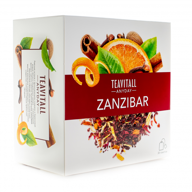 "Чайный напиток ежедневный TeaVitall Занзибар Anyday ""Zanzibar"""