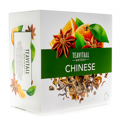 "Чайный напиток ежедневный TeaVitall Китайский Anyday ""Chinese"""