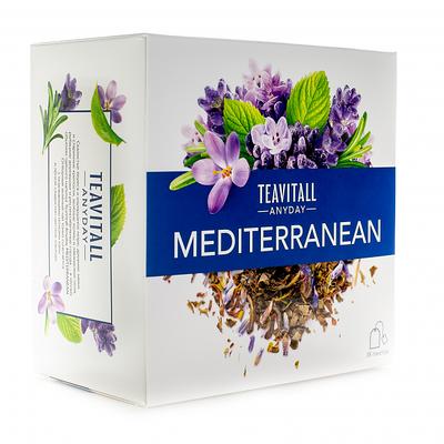 """Чайный напиток ежедневный TeaVitall Среднеземноморе Anyday """"Mediterranean"""""""