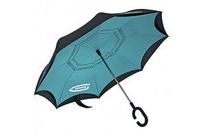 Зонт-трость Gross 69701 обратного сложения, эргономичная рукоятка с покрытием Soft ToucH