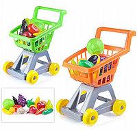 Тележка для супермаркета с фруктами и овощами, арт. У958, Стром