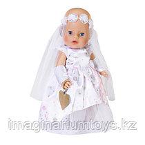 Набор для куклы Baby Born Одежда для невесты Делюкс