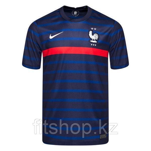 Сборная Франция майка игровая ЕВРО 2020 домашняя