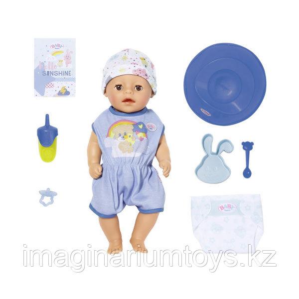Бэби Борн кукла интерактивная мальчик 36 см Baby Born