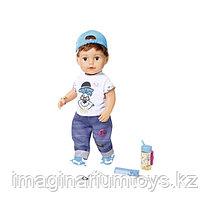 Бэби Борн кукла интерактивная мальчик Братик 43 см Baby Born