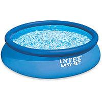 Круглый бассейн с надувным бортом Intex 183х51 см