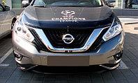 Мухобойка (дефлектор капота) Nissan Murano 2016+