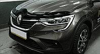 Мухобойка (дефлектор капота) Renault Arkana 2019+