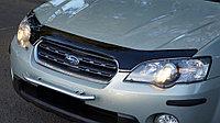 Мухобойка (дефлектор капота) Subaru Legacy 2006-2009 (кроме версии USA рестайлинг)