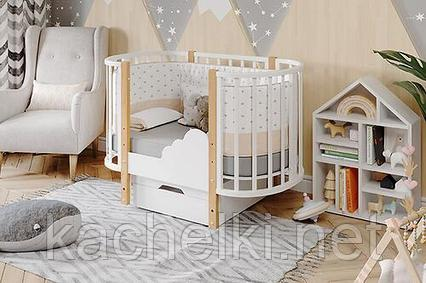 Овальная кроватка Элен 2
